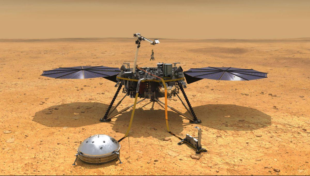 InSight 探測任務,登陸火星直播。