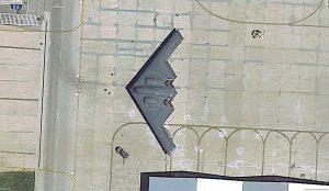 懷特曼空軍基地上的 B-2 轟炸機